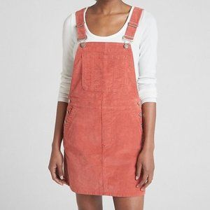 GAP Corduroy Overall Dress Coral XL
